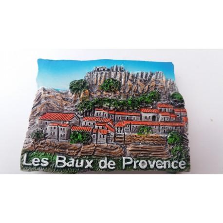 Magnet Résine Les Baux de Provence