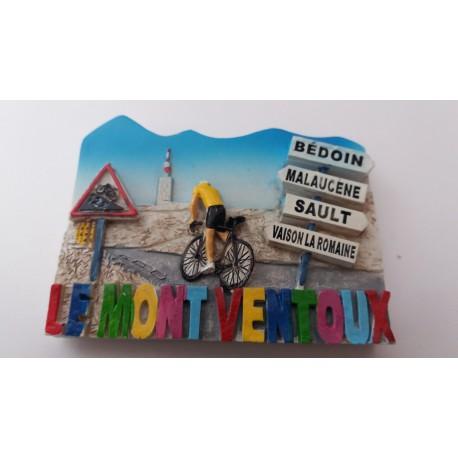 Magnet Résine Mont Ventoux - Direction