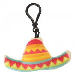 Porte-clés Moelleux Peluche Sombrero avec Son