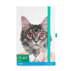 Carnet de Notes Chat Lunette