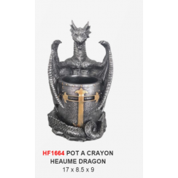 Pot à Crayon Heaume Dragon