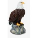 Statuette Aigle sur Rocher de Face