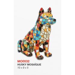 Husky Mosaïque