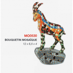 Bouquetin Mosaïque