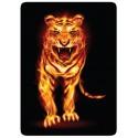 Sticker Cleaner Tigre feu