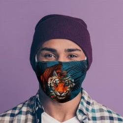 """Masque de Protection Réutilisable Tissu """"Tigre"""""""