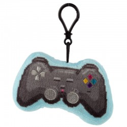 Porte-clés Peluché Sonore Game Over - Manette