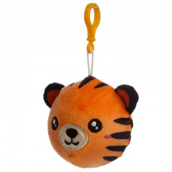 Porte-clés Peluché à Presser Tigre