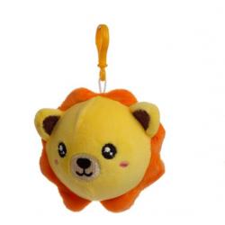 Porte-clés Peluché à Presser Lion