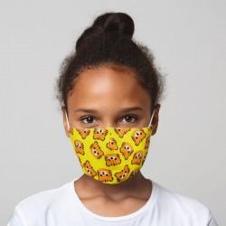 """Masque de Protection Réutilisable Tissu """"Tigres"""" (Enfant)"""