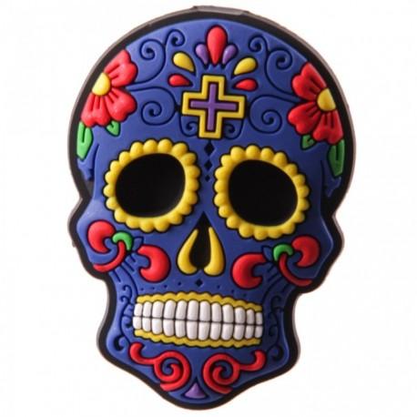 """Magnet  """"Jour des Morts Mexicains"""" Bleu"""