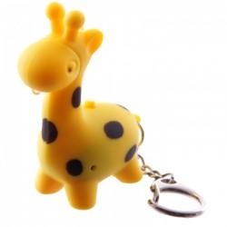 Porte-Clés Lumineux et Sonore Girafe 2