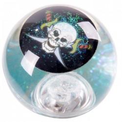 Balle Rebondissante Lumineuse Pirate (Bleu)