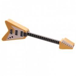 Crayon et Gomme Guitare Electrique Jaune