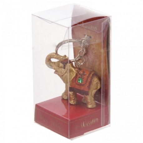 Porte-Clefs Eléphant Porte-Bonheur Richesse (Fortune)