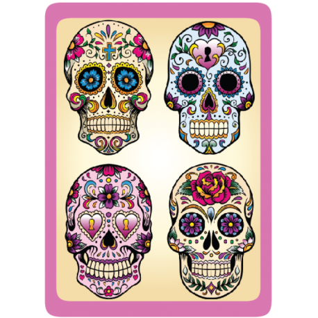 Sticker Cleaner Jour des Morts 4