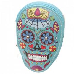 """Kit de Manucure """"Jour des Morts Mexicains"""" (Bleu)"""