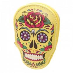 """Kit de Manucure """"Jour des Morts Mexicains"""" (Jaune)"""