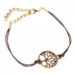 Bracelet Arbre de Vie Marron