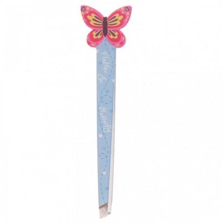 Pince à épiler Papillon (Rose)
