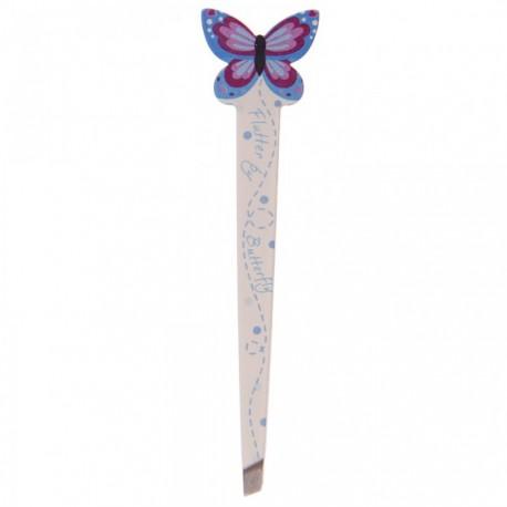 Pince à épiler Papillon (Bleu)