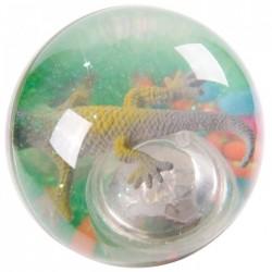 Balle Rebondissante Lumineuse Lézard (Vert)