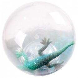 Balle Rebondissante Lumineuse Lézard (Bleu)