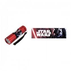 Lampe Torche de Poche à Leds Star Wars (Rouge)