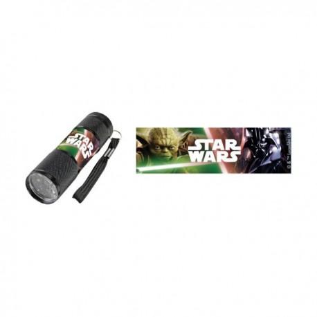 Lampe Torche de Poche à Leds Star Wars (Noir)
