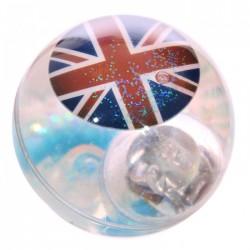 Balle Rebondissante Lumineuse Drapeau Anglais (Bleu)