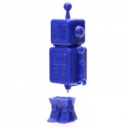 Stylo Forme Robot Bleu