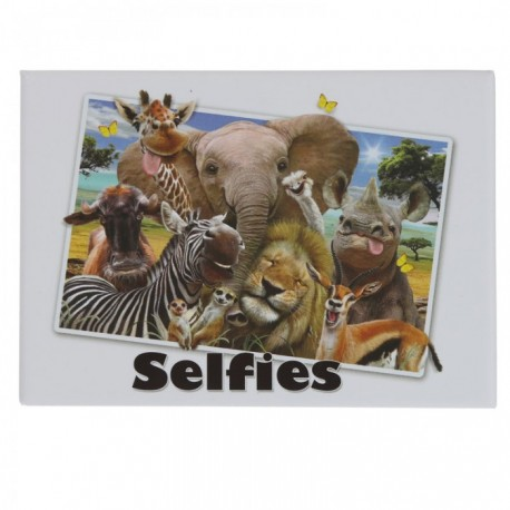 Magnet Selfie Animaux du Zoo