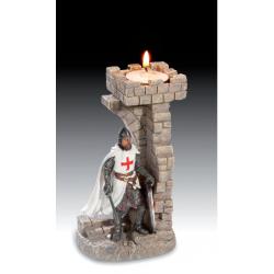 Bougeoir Templier avec Epée
