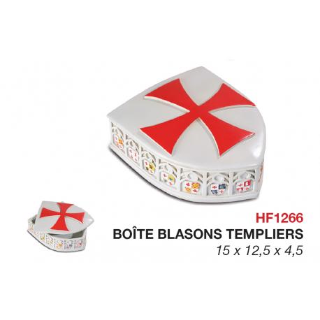 Boîte Blasons Templiers