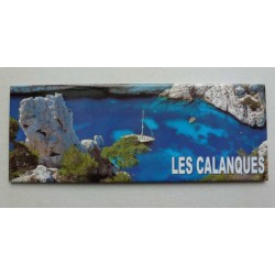 Magnet Panoramique Calanques 03