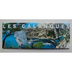 Magnet Panoramique Calanques Multivues