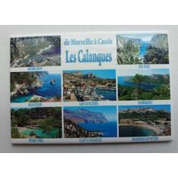Magnet Calanques de Marseille à Cassis