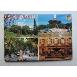 Magnet Aix-en-Provence 4 vues