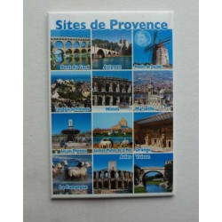 Magnet Sites de Provence