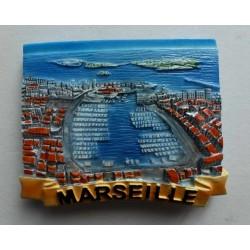 Magnet Résine Marseille 02