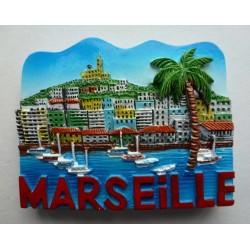 Magnet Résine Marseille 12