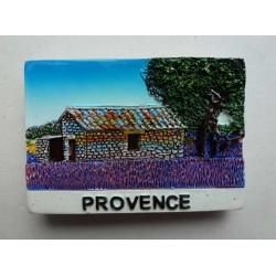 Magnet Résine Provence Lavande