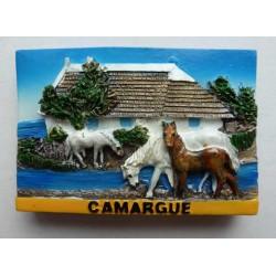 Magnet Résine Camargue 03