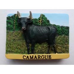 Magnet Résine Taureau Camargue 30