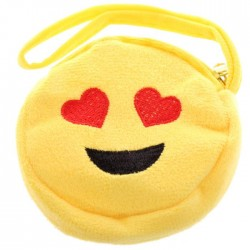 Porte-Monnaie Smiley Emoti Coeurs