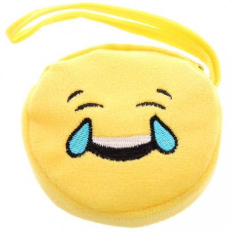 Porte-Monnaie Smiley Pleure de Rire