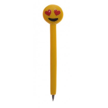 Stylo Smiley Coeur Amour