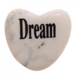 Magnet Coeur en Pierre REVE - DREAM