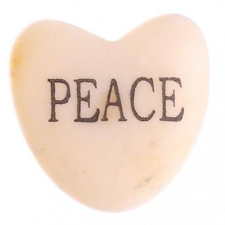 Coeur à Voeux PAIX - PEACE