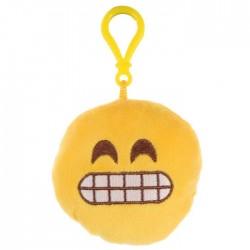 Porte-clés Moelleux Smiley Emoti Colère avec Son